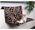 Pelech pro kočky na radiátor žirafa