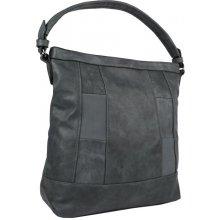 elegantní kombinovaná dámská kabelka se vzorem NH6071 šedá cb2351545e5