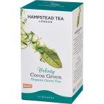 Hampstead BIO zelený čaj s kakaovými slupkami Tea London 20 ks