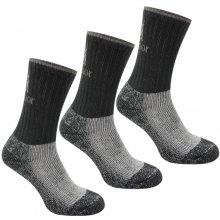 Karrimor Heavyweight Boot Socks Black 3 pack