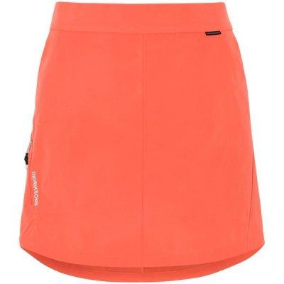 Didriksons softshellová sukně Liv s šortkami červená