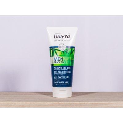 Lavera Sensitive Sprchový gel a šampon pro muže 3v1 BIO 200 ml