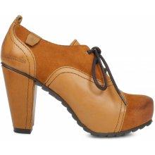Cubanas Dámská kotníčková obuv ROADY110 hnědé