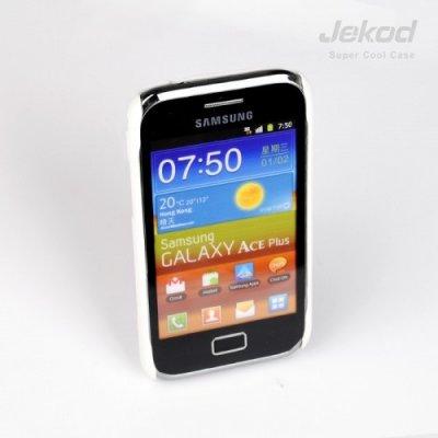 Pouzdro JEKOD Super Cool Samsung Galaxy Ace Plus S7500 bílé