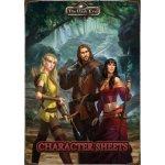 Hra na hrdiny The Dark Eye: Character Sheets