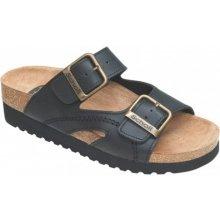 408f77532a7 Scholl MOLDAVA WEDGE AD zdravotní pantofle černé
