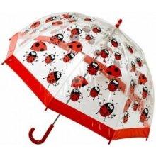 Blooming Brollies dětský průhledný deštník Bugzz Kids Stuff Ladybugs BERUŠKA