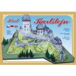 Hrad Karlštejn stavebnice papírového modelu