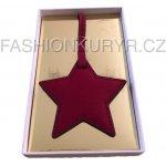 Přívěsek na klíče a kabelku MICHAEL KORS (STAR RED)