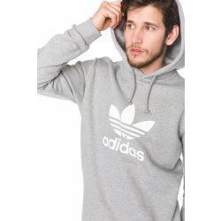 45c9fec11ff mikina adidas originals pánská šedá - Nejlepší Ceny.cz