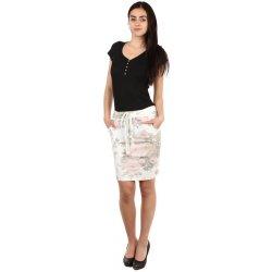 15feea0c04d9 TopMode dámská pouzdrová sukně s květinovým vzorem bílá od 399 Kč -  Heureka.cz