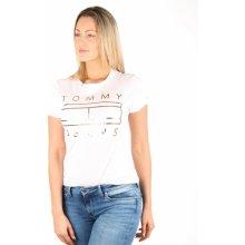 Tommy Hilfiger Dámské tričko Clean bílé 5659e167bb