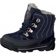 d9b5de407d1 Ricosta 37354-174 Chlapecké zimní botičky MIKE modrá