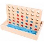Bigjigs Toys dřevěné hry Čtyři v rovině