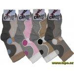 2c763b7221e ponožky CRAZZZY THERMO trek plyš dámské mix tmavý