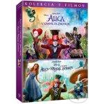 Alenka V ŘÍŠI DIVŮ 1+2 KOLEKCE DVD