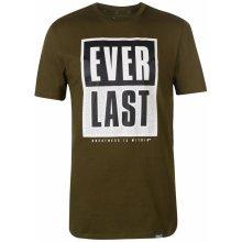 Everlast Urban Mens T Shirt Khaki