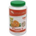 Aspen team Vitamín C 100 % vegan kapsle 180 ks