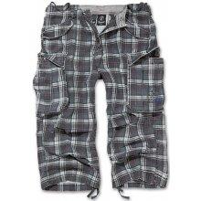 Tříčtvrteční kalhoty Industry Vintage Brandit tmavě šedé