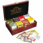 Ahmad Tea Keeper luxusní dřevěná kazeta 8 x 10 x 2 g