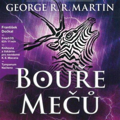 Hra o trůny : Bouře mečů Kniha třetí - George R. R. Martin - 4CD