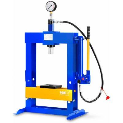MSW Dílenský hydraulický lis - 10 tun lisovací tlak MSW-WP-10T 3 letá prodloužená záruka