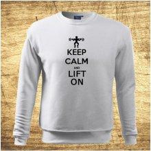 Keep calm and lift on Bílá