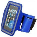 Pouzdro Sportiso Sportovní Armband iPhone 5/5S/SE Modré