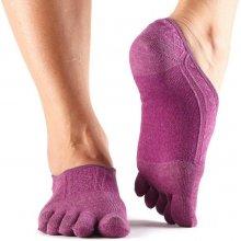 ToeSox Prstové ponožky Casual Dash Violet