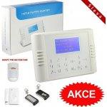 Bezdrátový LCD GSM alarm systém BASIC