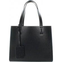Another bag Little Sister Structure shopper černý