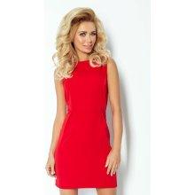 42728da365e Numoco dámské společenské šaty Madlene bez rukávů krátké červená