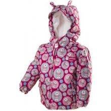 41c7f64df Pidilidi PD1035-03 dívčí zimní bunda s kožíškem růžová 2018