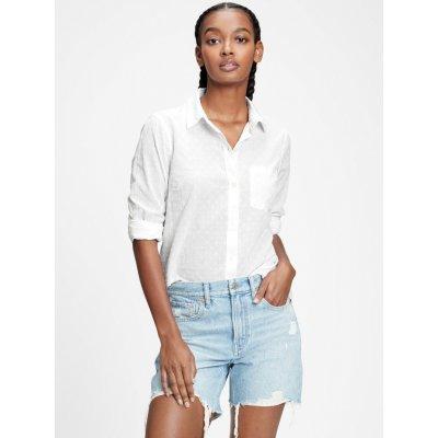 Button-front pocket shirt