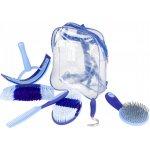 Horze Sada na čištění v přepravní tašce Sweet Modrá Světle modrá