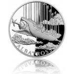 Česká mincovna Stříbrná mince Fantastický svět Julese Verna Vzdušná loď Albatros proof 31,1 g