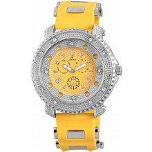 Classique Men Analog Watch Silver Yellow