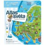 ALBI mluvící kniha Kouzelné čtení Atlas světa