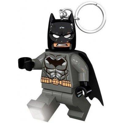 Přívěsek na klíče LEGO DC Super Heroes Grey Batman svítící figurka