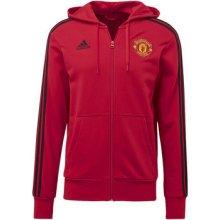 Adidas Mikina Manchester United 3-Stripes Hoodie Červená 154038c1d9b