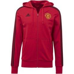 b0ca3cb480 Adidas Mikina Manchester United 3-Stripes Hoodie Červená od 1 250 Kč ...