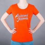 dfb8925ecec8 Armani Jeans Stylové tričko oranžové