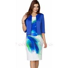 7c0661f78c64 Color collection dámské společenské šaty s modrým sakem bílá