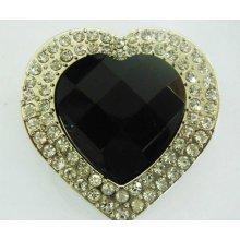 Háček na kabelku Luxury černý