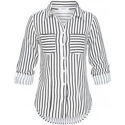 ea8c8ad2e8d Hailys dámská pruhovaná košile Sally bílo černá alternativy - Heureka.cz