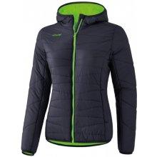 Erima Stepp dámská bunda tm.šedá/zelená neon