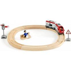 Vláčkodráha sada kruhová osobní vlak 15 dílů
