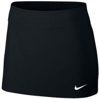 Nike court genie bouchard power spin tennis skirt 830664-010 black
