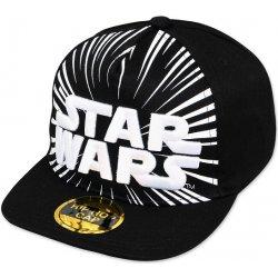 Dětská čepice Hip Hop chlapecká kšiltovka Star Wars černá 7258d724ff