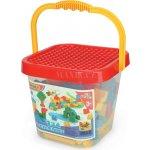 Wader 41340 Mini Blocks Velký kbelík s kostkami